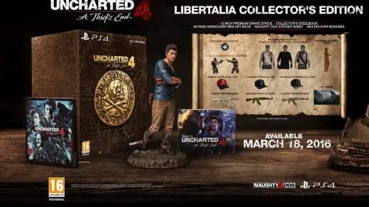 Les précommandes d'Uncharted 4 édition collector sont lancées !