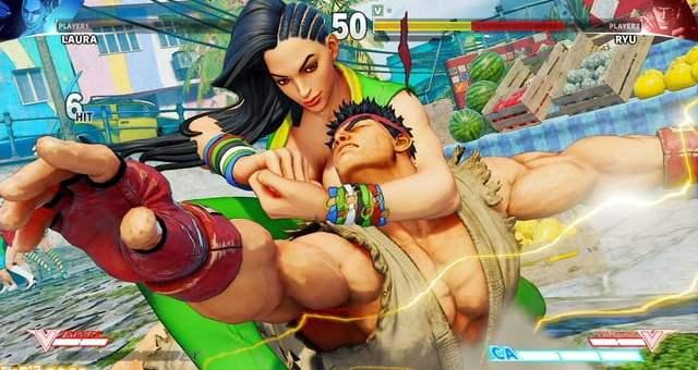 Laura dans Street Fighter V