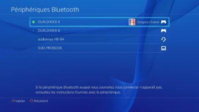 Youhou ! Le casque Audiomax est détecté par la PS4 !