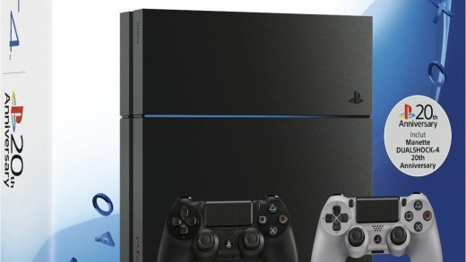 La PS4 1To avec sa seconde manette collector et Need For Speed !