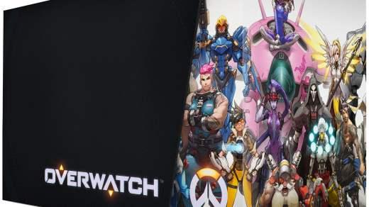 Le packaging de l'édition collector d'Overwatch est sympa !