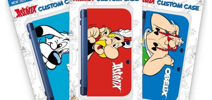 Les coques New 3DS XL Asterix