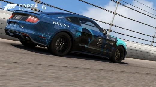 Je suis fier de moi : j'ai réussi à illustrer Forza 6 ET Halo 5 en une image !