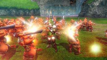 Screenshot d'Hyrule Warriors legends sur 3DS
