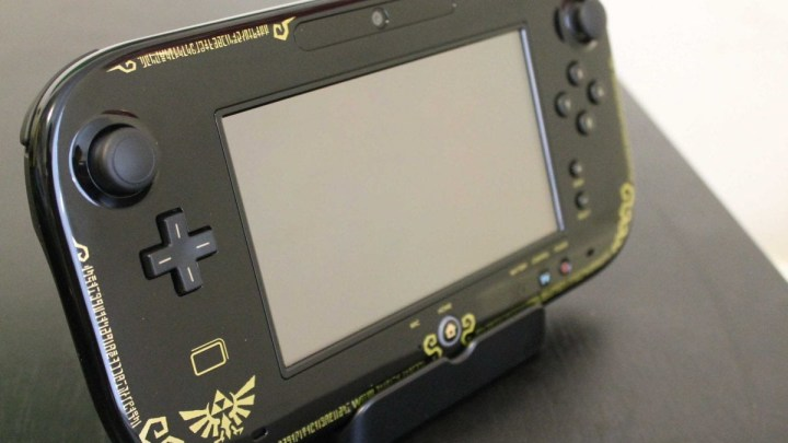 Mon défunt Wii U Gamepad édition collector Legend of Zelda :( !