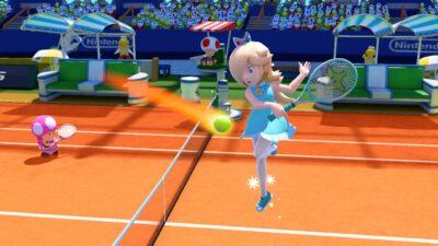 Visuellement, Mario Tennis Ultrasmash est très agréable à l'oeil !