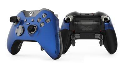 Cette manette Elite Xbox One bleue, aux couleurs de la Ford GT, est juste sublime !