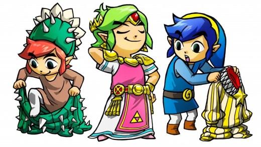 Link aime se travestir apparemment !