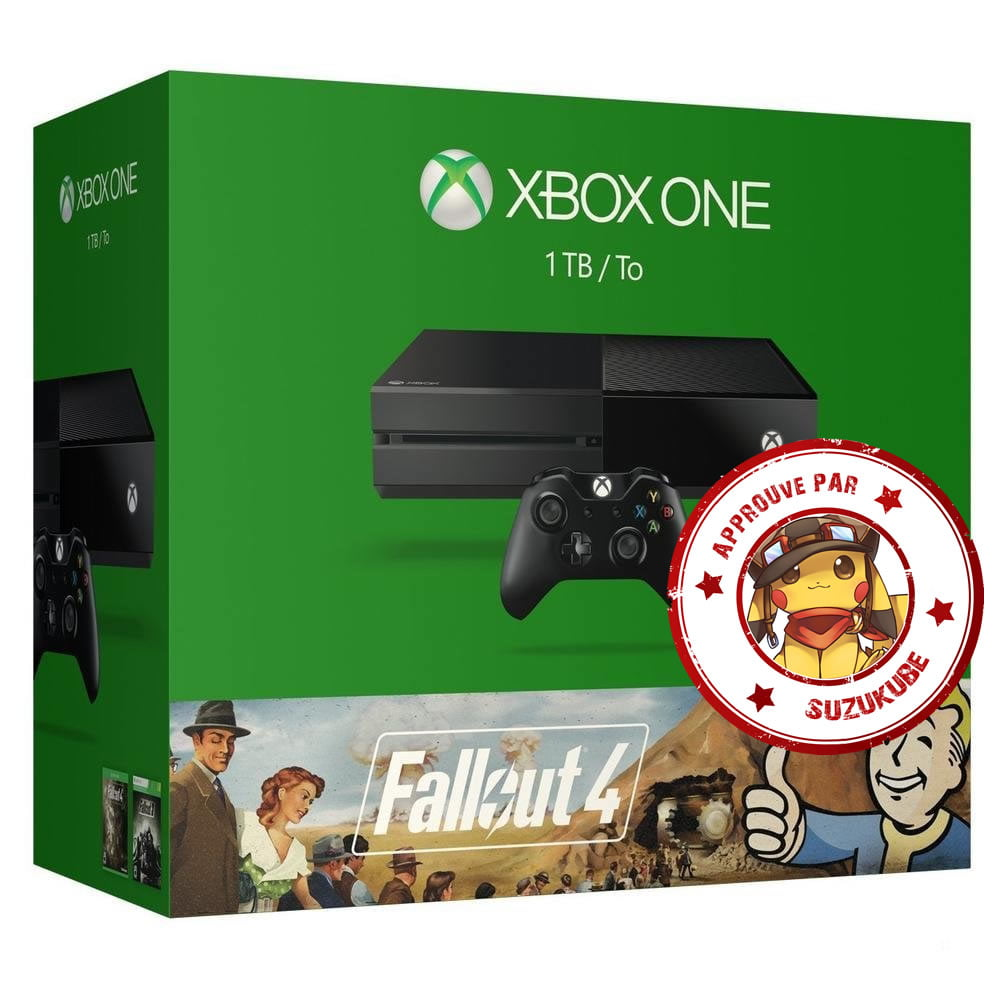 promo la xbox one 1to fallout 4 ou rise of the tomb raider 299 pdt 24h. Black Bedroom Furniture Sets. Home Design Ideas