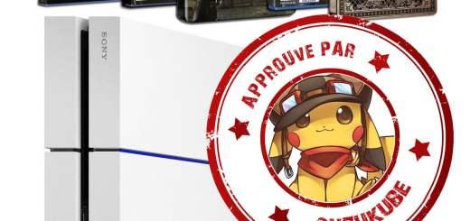 Promotion Playstation 4 + 3 jeux approuvée par SuzuKube !