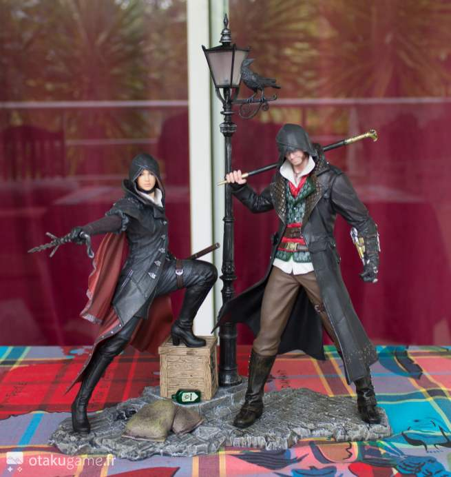 Figurine Assassin's Creed Syndicate Evie & Jacob