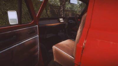 Et voici le magnifique intérieur d'une camionnettte Roug... ZZZzzzzZZZzzzz...