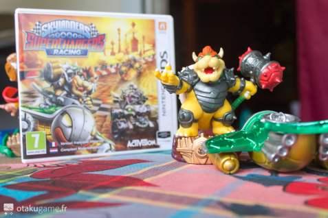 L'Amiibo Skylanders Bowser avec le jeu 3DS sont vraiment alléchant à première vue !