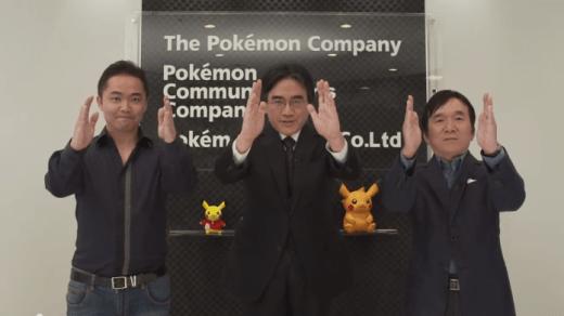 Satoru Iwata aimait beaucoup la Pokémon Company