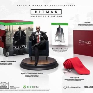 Hitman et sa sympathique édition collector, mais avec le jeu au format dématérialisé...