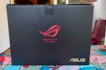 Voici la boîte complète de l'ASUS ROG !