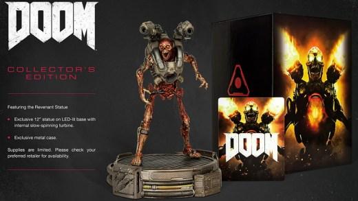 L'édition collector de DOOM est disponible !