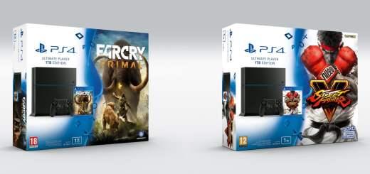 Les bundle SFV et Far Cry Primal ;) !
