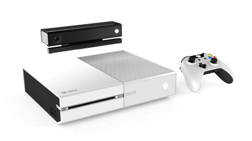 """La Xbox One blanche dans son édition collector """"I made this"""""""