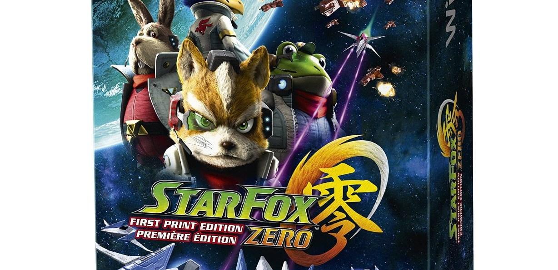 StarFox Zero dans son édition collector à 49€99