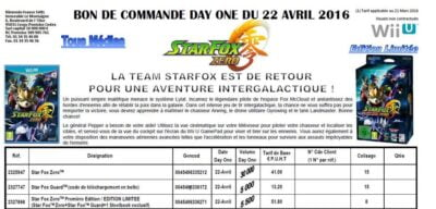 5500 Starfox édition collector en France...