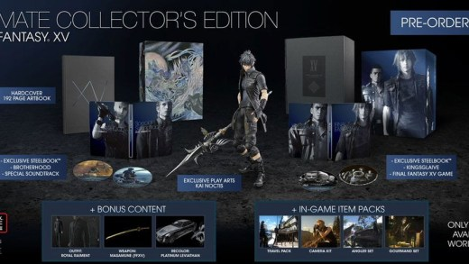 L'édition collector de Final Fantasy XV