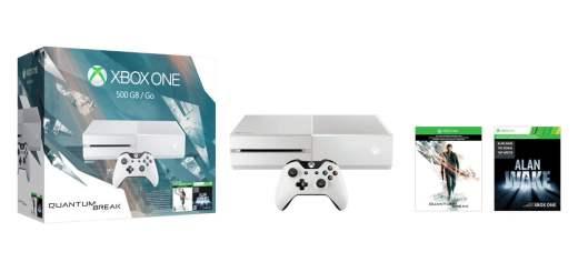 Les Xbox One blanches sont rare, d'où son statut de collector !