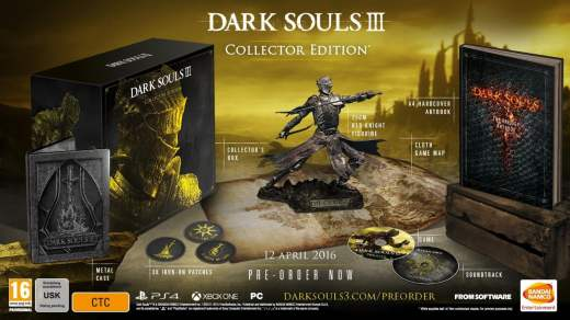 Dark Souls III en édition collector sur Xbox One
