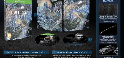 Final Fantasy XV Deluxe Edition à 69€90Final Fantasy XV Deluxe Edition à 69€90