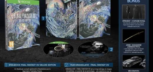 Final Fantasy XV Deluxe Edition à 69€90Final Fantasy XV Deluxe Edition à 69€90