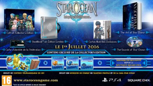 L'édition collector de Star Ocean V