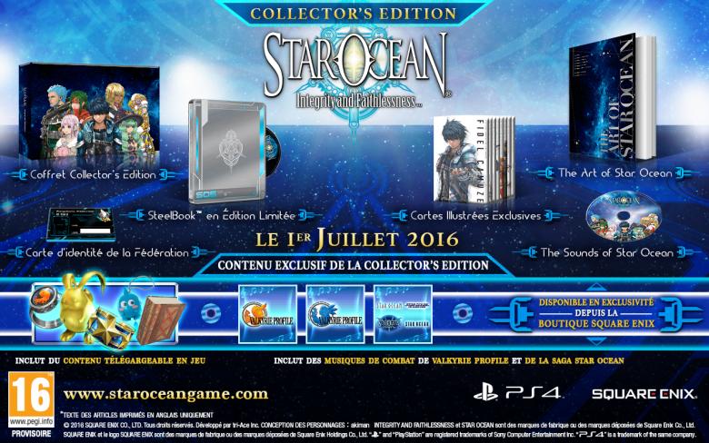 L'édition collector de Star Ocean V