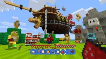 Mario feat. Minecraft sur Wii U !