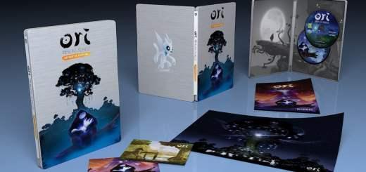 La version boîte d'Ori and the blind forest est vraiment soigné ;) !
