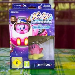 Le nouvel Amiibo Kirby de la collection Kirby !