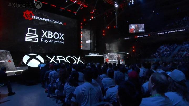Xbox Play Anywhere détaillé par Microsoft.