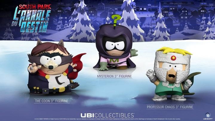 Les figurines de South Park : L'annale du destin seront vendues séparéments !