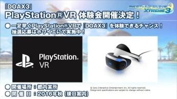 Dead or Alive Xtreme 3 Playstation VR (2)