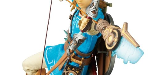 Figurine de Link de The Legend of Zelda : Breath of the Wind