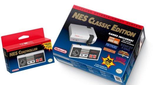 La réédition de la NES, c'est pour le 12 novembre prochain !