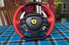 Le volant Ferrari 458 Spider se présente vraiment bien !