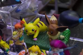Figurine Pikachu & Evoli