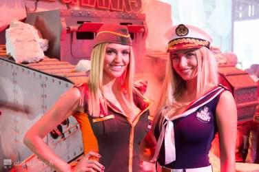 Gamescom 2016 - Hotesses World of Tanks