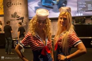 Gamescom 2016 - Hotesses War Thunder