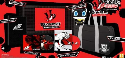 L'édition collector de Persona 5 telle qu'elle sera en France !