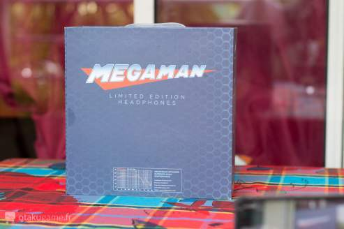 Packaging casque Megaman