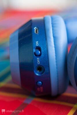 Avec ce bouton, choisissez en temps réel votre programme luminescent parmi 3 programmes !