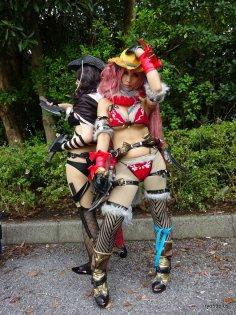 Cosplay au Tokyo Game Show 2016 !