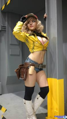 Cosplay de Cindy (FFXV) par Luna Lanie