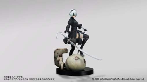 La figurine de l'édition collector de Nier Automata